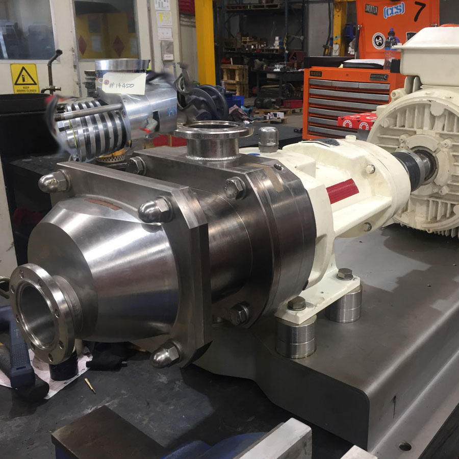 Stevco Positive Displacement Pump