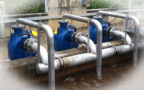 Stevco Self Priming Trash Pump